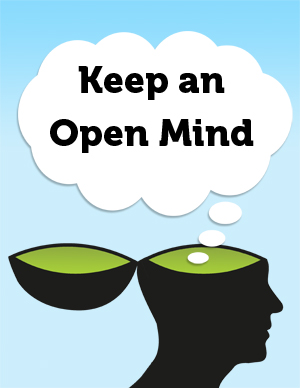Keep and Open Mind Thumbnail